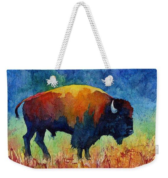 American Buffalo II Weekender Tote Bag