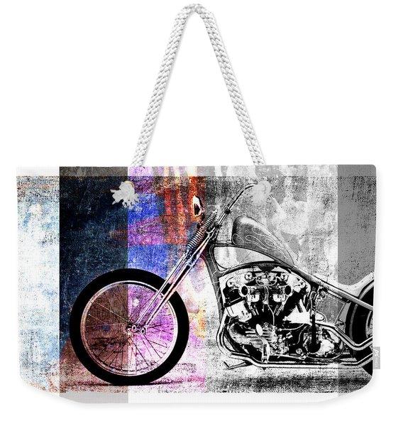 American Chopper Bike Weekender Tote Bag