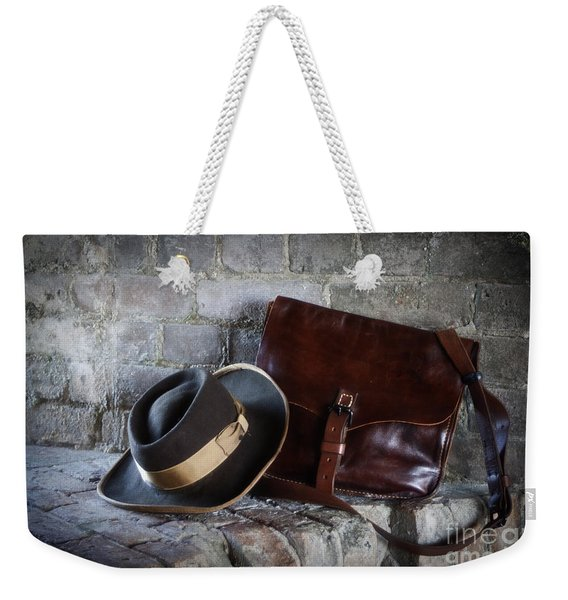 American Civil War Hat And Sack Weekender Tote Bag