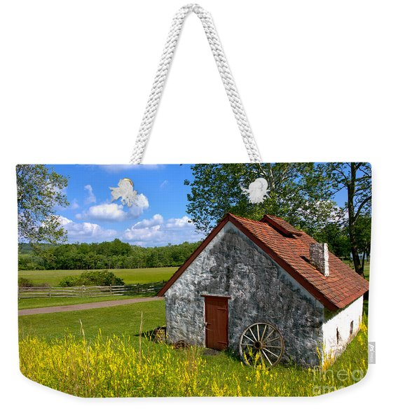 American Country Farmhouse Weekender Tote Bag