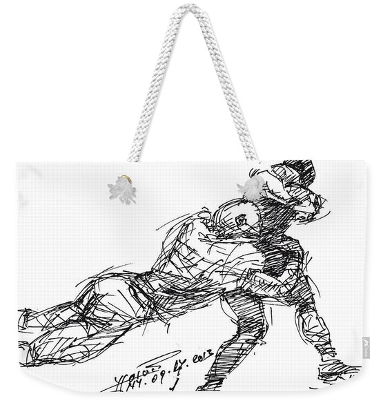 American Football 2 Weekender Tote Bag