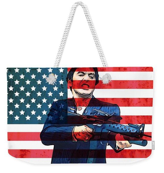 American Gangster Tony Montana Weekender Tote Bag