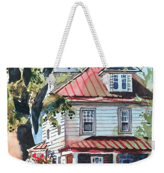 American Home With Children's Gazebo Weekender Tote Bag