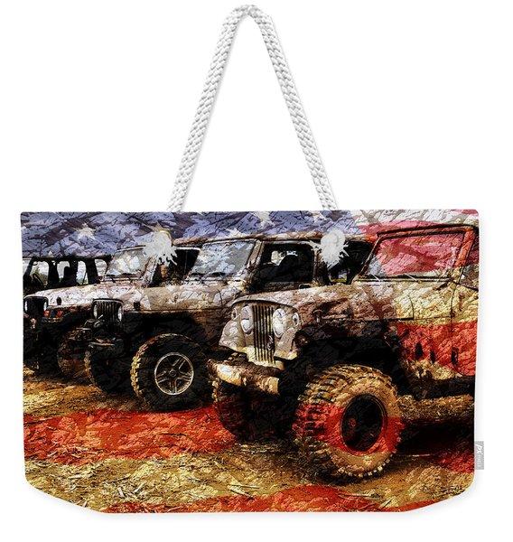 American Jeeps Weekender Tote Bag
