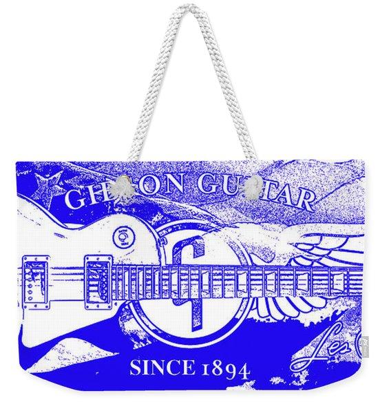 American Legend Blue Weekender Tote Bag