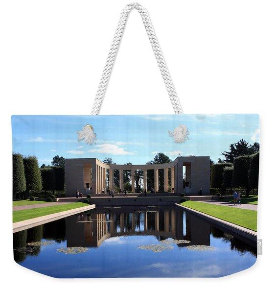 American Memorial Normandy France Weekender Tote Bag