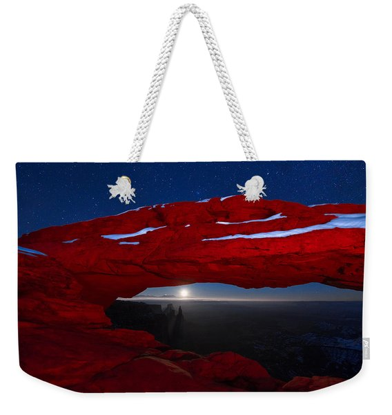 American Moonrise Weekender Tote Bag