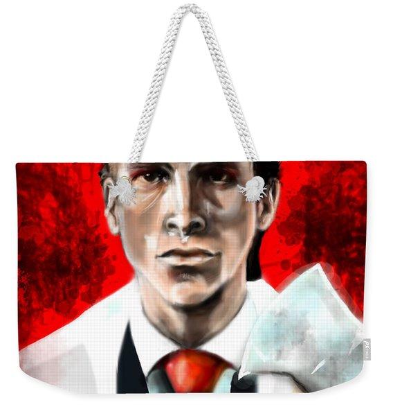 American Psycho Weekender Tote Bag