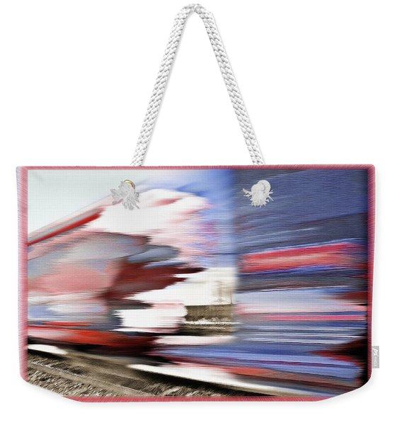 American Rail Weekender Tote Bag