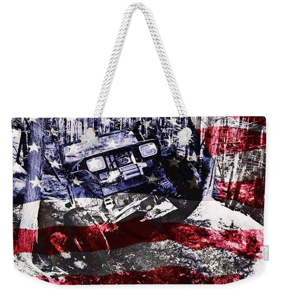 American Wrangler Weekender Tote Bag