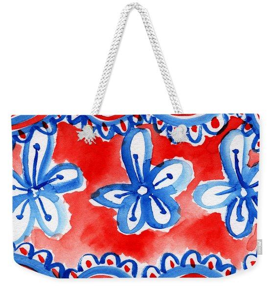 Americana Celebration 2 Weekender Tote Bag