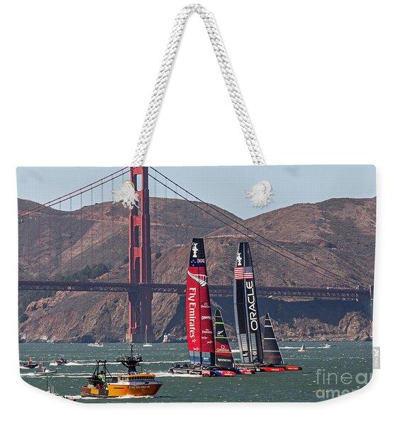 Americas Cup At The Gate Weekender Tote Bag