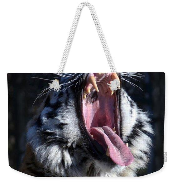 Amor Tiger Weekender Tote Bag