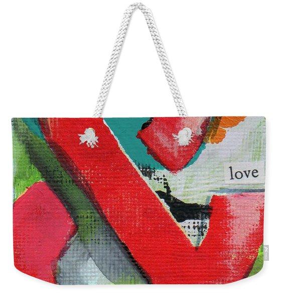Ampersand Love Weekender Tote Bag