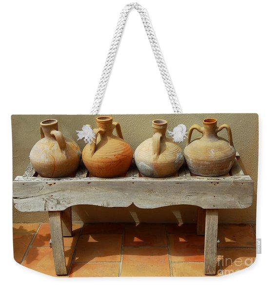 Amphoras  Weekender Tote Bag