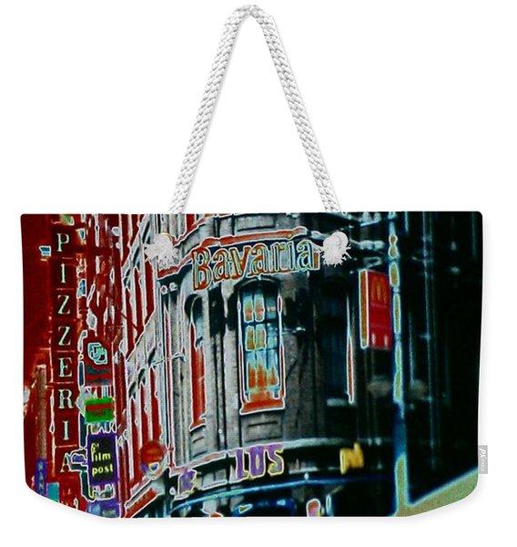 Amsterdam Abstract Weekender Tote Bag
