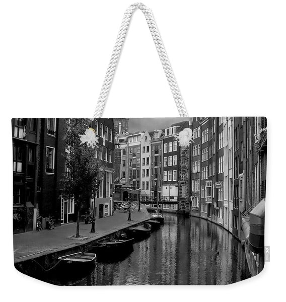 Amsterdam Canal Weekender Tote Bag