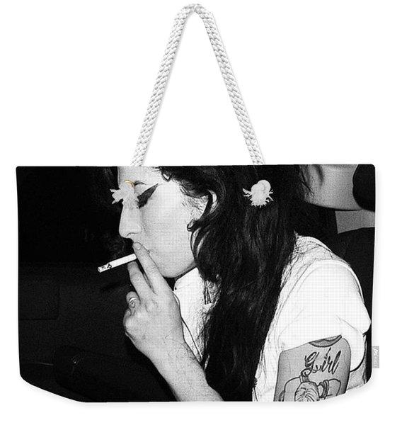 Amy Winehouse  Weekender Tote Bag