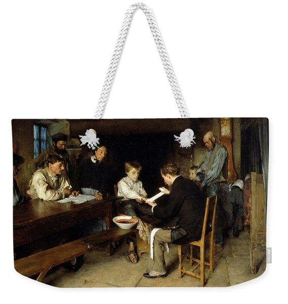 An Accident Weekender Tote Bag