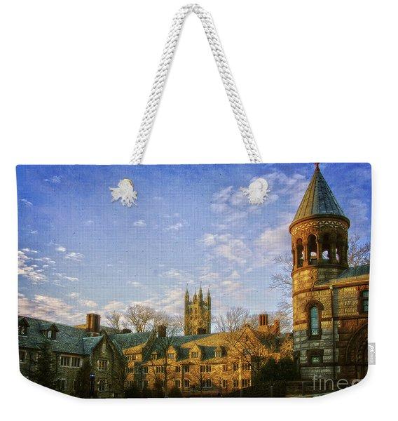 An Afternoon At Princeton Weekender Tote Bag