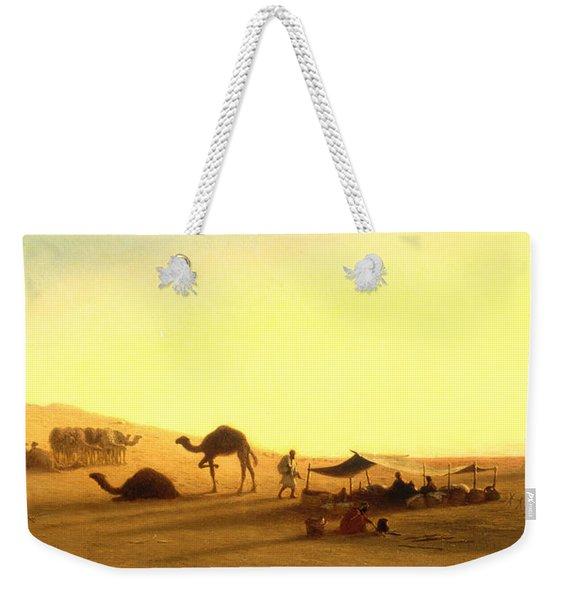 An Arab Encampment  Weekender Tote Bag