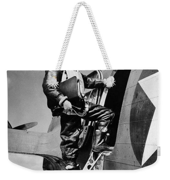 An Army Air Force Navigator Weekender Tote Bag