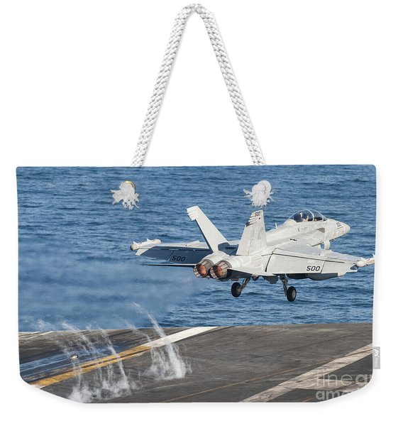 An Ea-18g Growler Launches Weekender Tote Bag