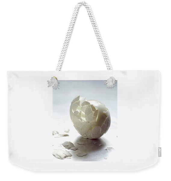 An Egg Shell Weekender Tote Bag