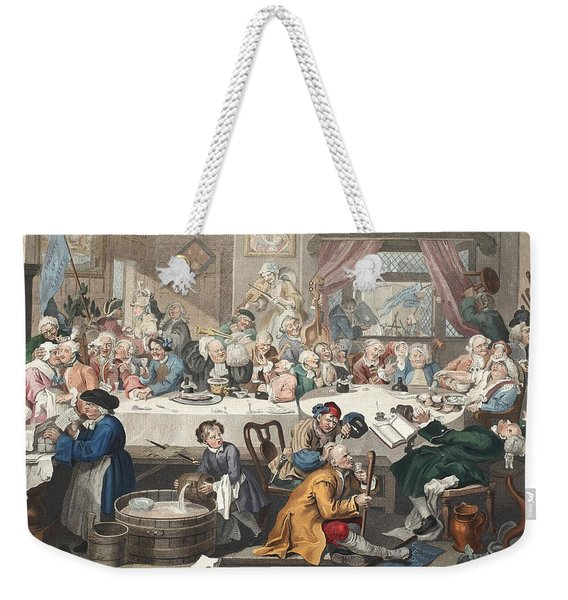 An Election Entertainment, Illustration Weekender Tote Bag