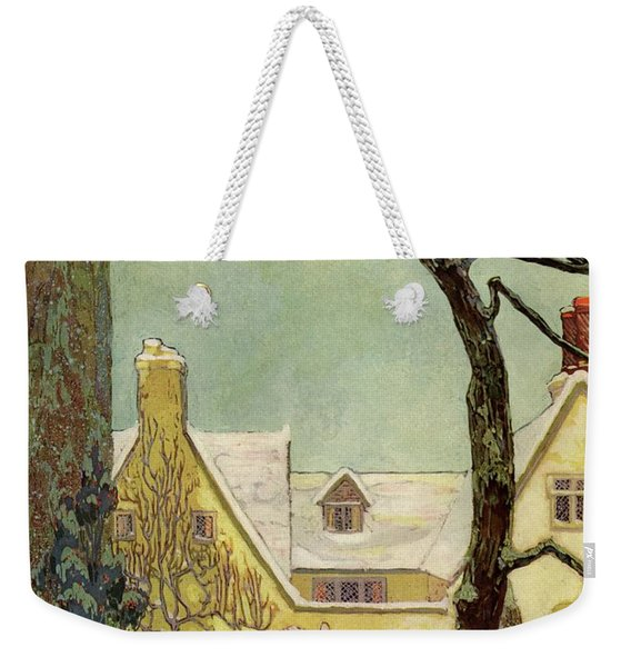 An English Country House Weekender Tote Bag