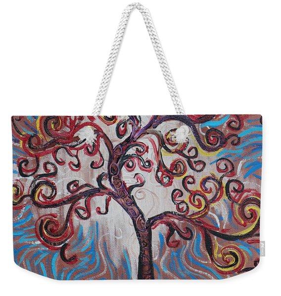 An Enlightened Tree Weekender Tote Bag
