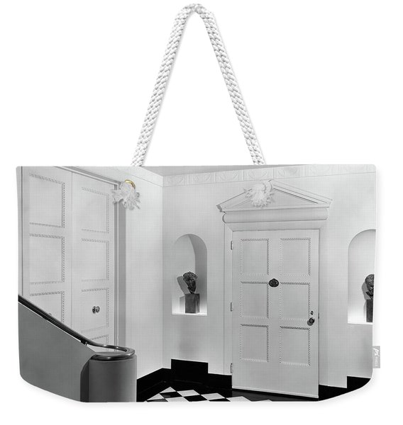An Entrance Hall Weekender Tote Bag