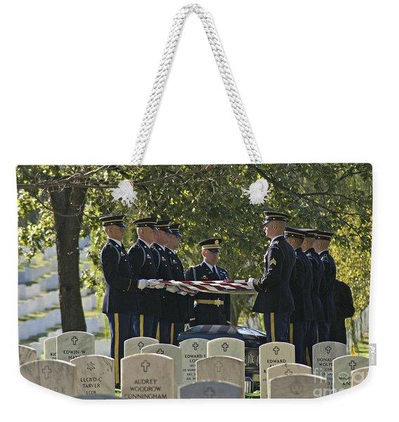 An Honored Dead Weekender Tote Bag