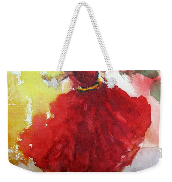 An Indian Dancer Weekender Tote Bag