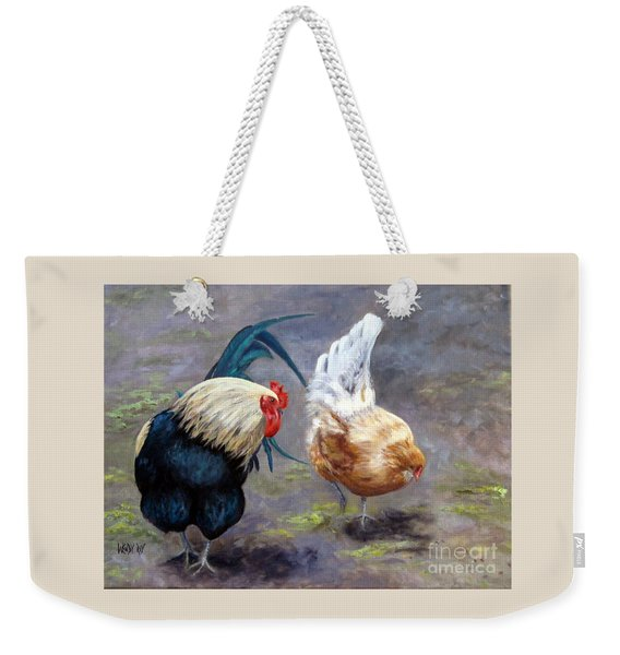 An Interesting Find Weekender Tote Bag