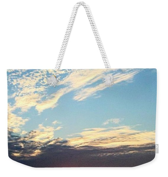 An Ocean And A Sunrise Weekender Tote Bag