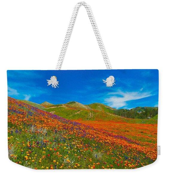 An Ocean Of Orange  Weekender Tote Bag