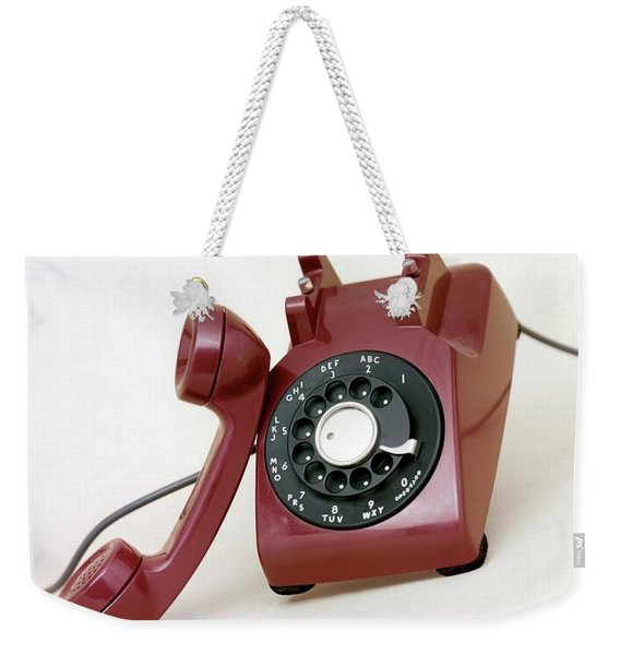 An Old Telephone Weekender Tote Bag