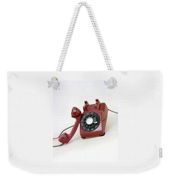 An Old Telephone Weekender Tote Bag