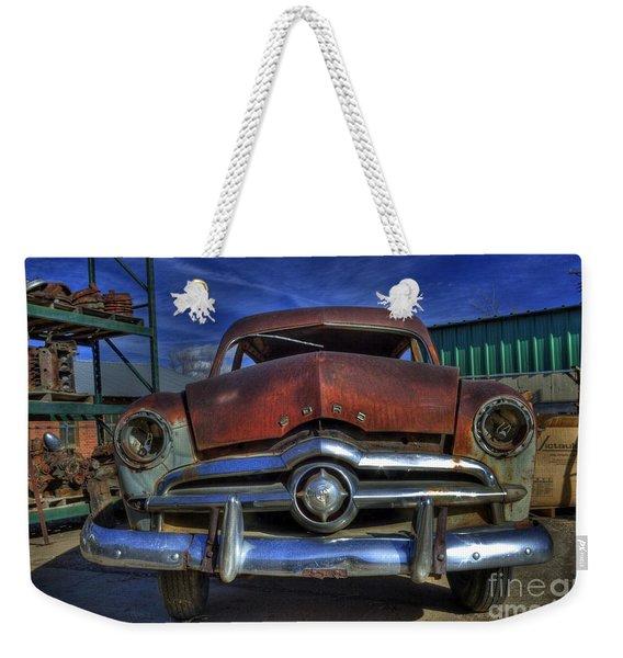 An Oldie Weekender Tote Bag