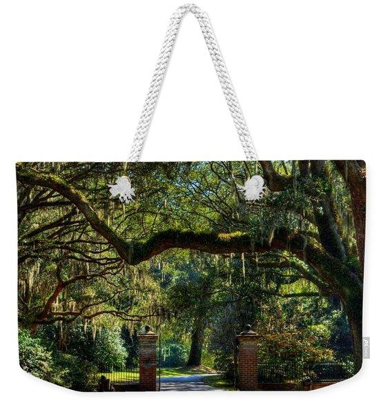 An Open Gate 3 Weekender Tote Bag