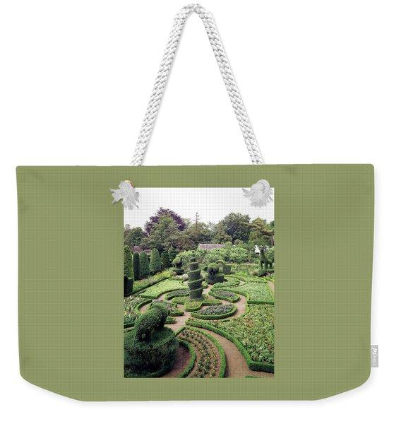 An Ornamental Garden Weekender Tote Bag