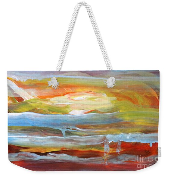Anarchist Sunset  Weekender Tote Bag