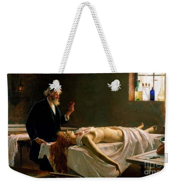 Anatomy Of The Heart Weekender Tote Bag