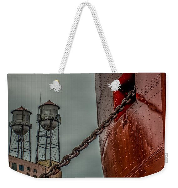 Anchor Chain Weekender Tote Bag