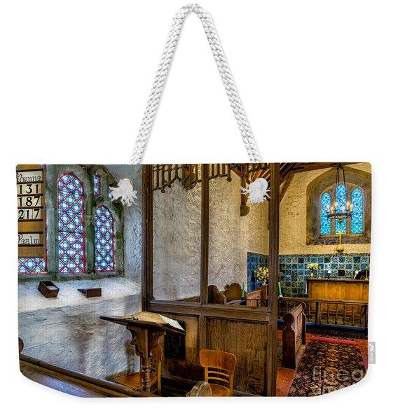 Ancient Chapel 2 Weekender Tote Bag