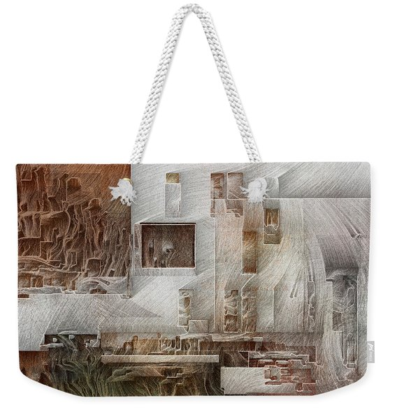 Ancient City 1 Weekender Tote Bag