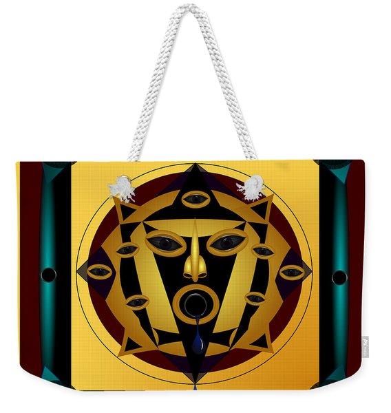 Ancient Eyes Weekender Tote Bag