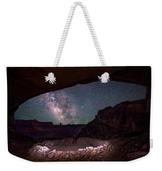 Ancient Skies Weekender Tote Bag