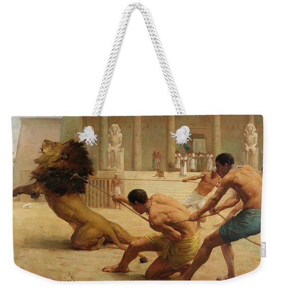 Ancient Sport Weekender Tote Bag
